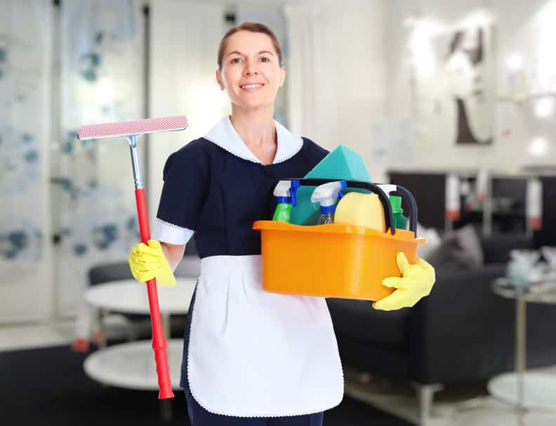 Eh Maids House Cleaning Service Happy Maid