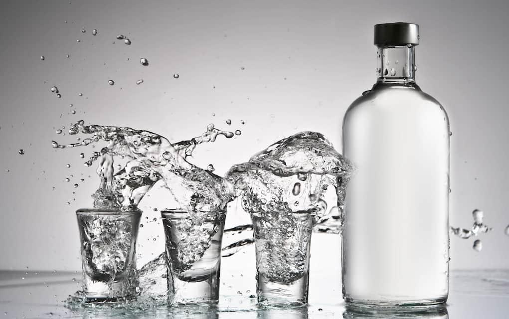 Vodka disinfectant