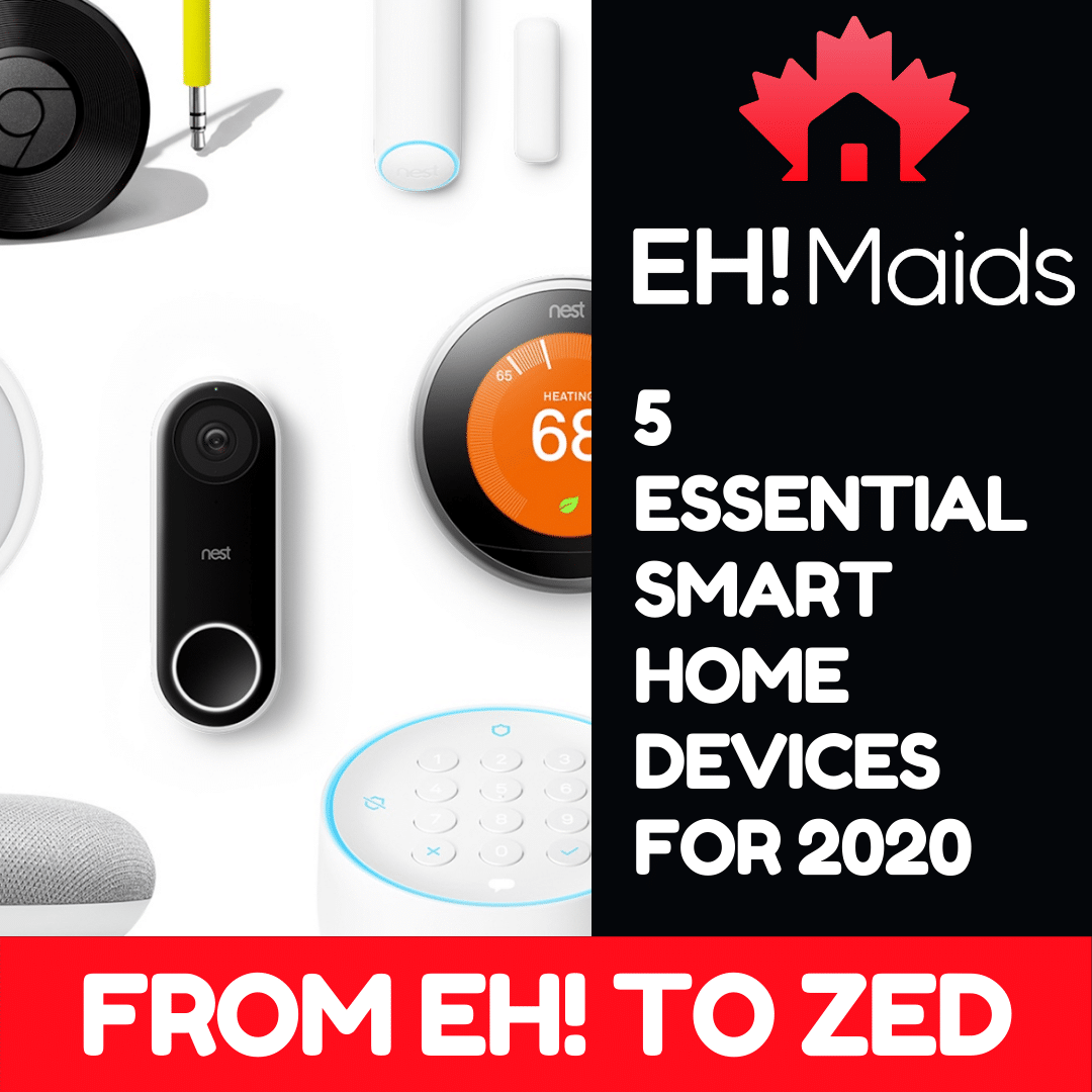 5 essential smart home devices for 2020