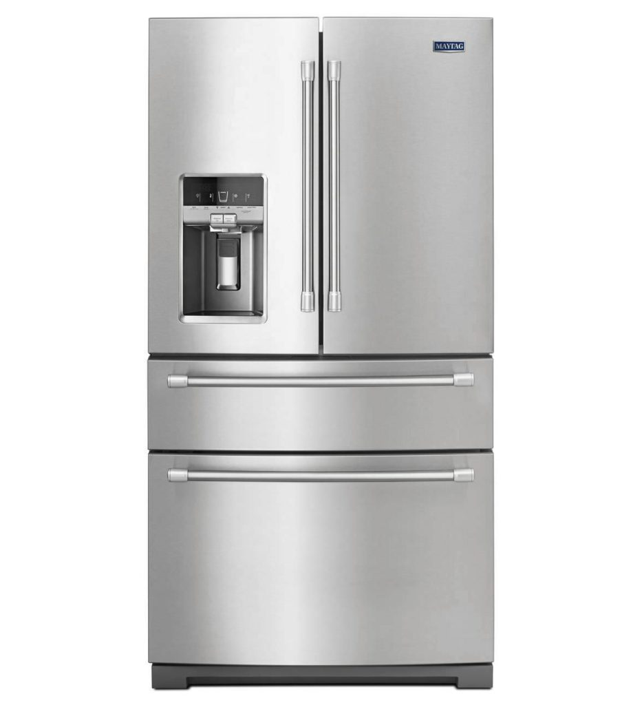 stainless steel fridge cleaning home appliances