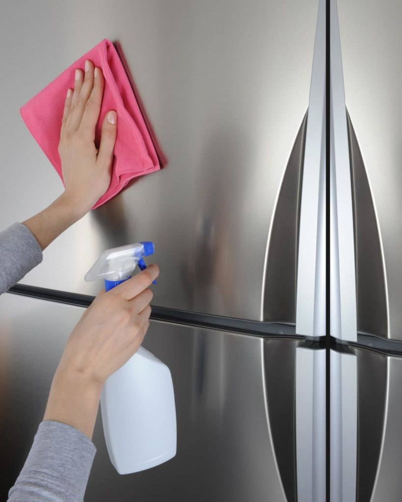 using the right cleaning supplies