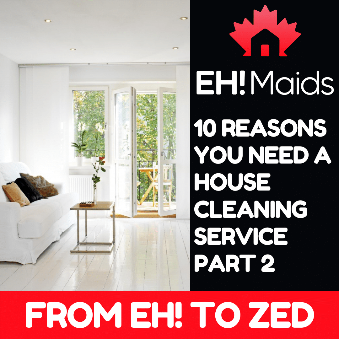 10 reasons you need a house cleaning service part 2